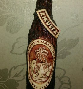 Сувенирная бутылка с Черного моря