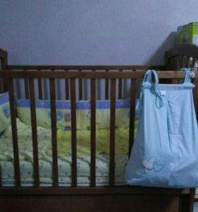 Детская кроватка Можга (Красная Звезда)