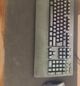 Клавиатура и мышь Logitech G series мышка беспров.