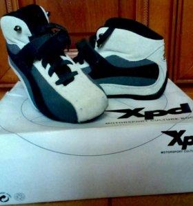 Ботинки для мотоциклистов