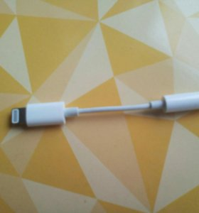 Переходник Apple Lightning (8-pin) на Jack 3,5mm