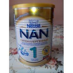 Смесь Nan 1 гипоаллергенный