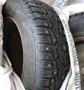 Зимние шины с дисками r 14 на Logan