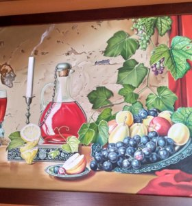 Картина масляные краски ручная работа