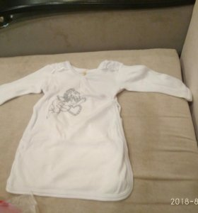 Рубашка для крещения 74