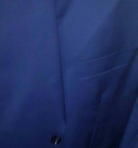 Костюм мужской синего цвета р. 58 60
