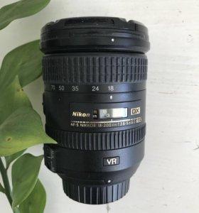 Nikon nikkor 18-200, dx