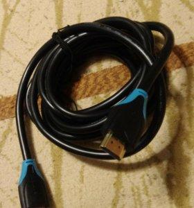 Hdmi кабель 3м