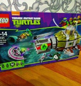 Lego черепашки ниндзя 79121 оригинал