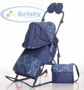 Санки-коляска Kristy comfort africa