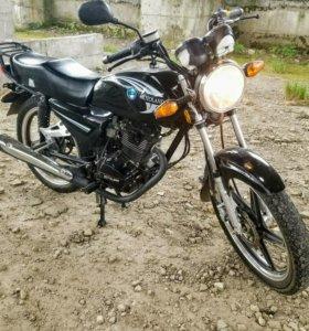 Мотоцикл Linye motoland td-150-33