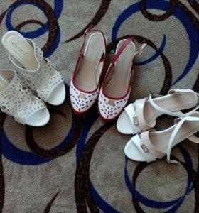 3 пары обуви за 450(по 1 разу б\у)