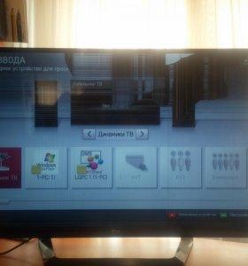 Телевизор LG 47 дюймов LG 47LM640T на запчасти.