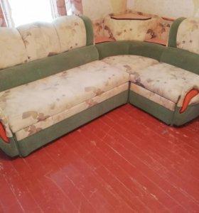 Диван и кресло кровать в отличном состоянии!