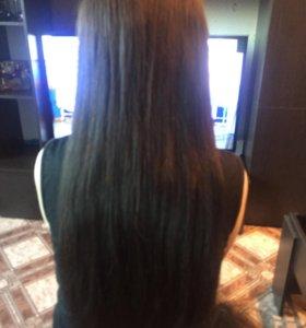 Наращивание волос , капсуляция , коррекция