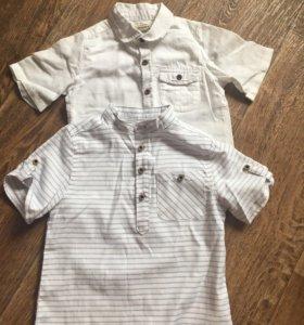 Рубашки на 2-3 года