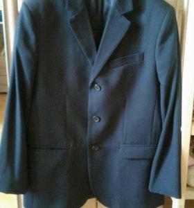Пиджак чёрный р170 (школьная форма)