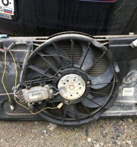 Вентилятор радиатора мазда 3 бк