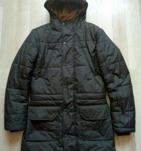 Зимняя мужская куртка-пальто