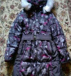 Куртка  зимняя для девочке