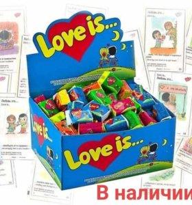 Блок Love is...