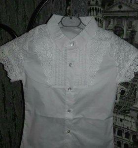 Новые фирменные блузки размеры от 6-10 лет