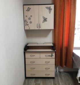 Пеленальный комод+ шкаф