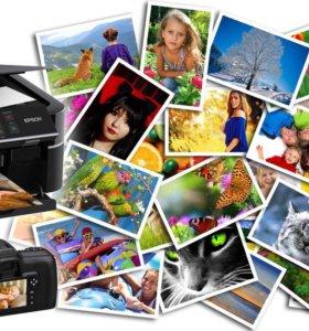 Услуги фото печати
