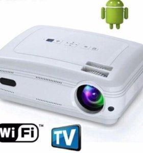 Новый проектор 3000 ansi lumen android tv