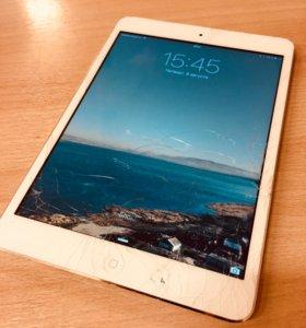 iPad mini 16gb wi-fi + cellular (битый экран)