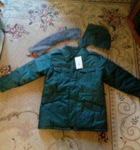 Утепленая куртка и штаны