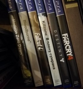 PS4 игры.