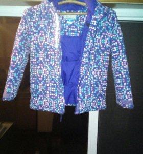 Синтепоновая куртка детская.