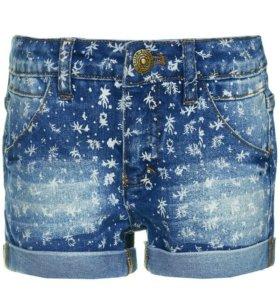 Новые шорты для девочки, джинсовые