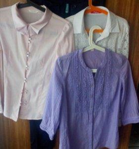 Блузки на девочку р-р 152 ,s,xs