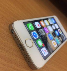 iPhone 5s📱 ЗОЛОТОЙ 16 ГБ!!! С отпечатком пальца.