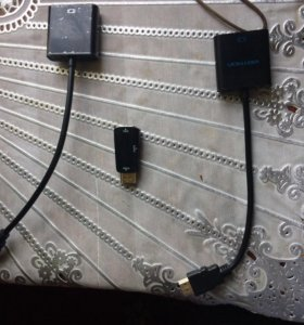 Переходники HDMI-VGA