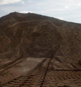 Песок карьерный речной