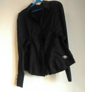 Черная рубашка francomina
