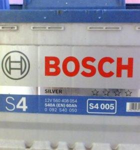 Аккумулятор bosch S4 005 Silver