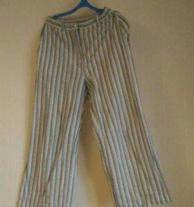 Летние льняные брюки