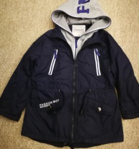 Стильная куртка-парка