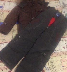 Куртка пух-перо