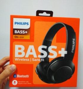 Беспроводные наушники Philips Bass+ SHB3075