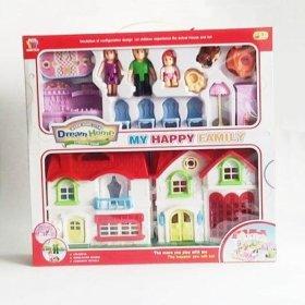 Домик для кукол с аксессуарами
