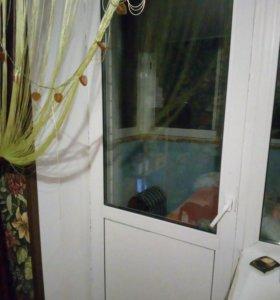 Дверь пластиковая балконная