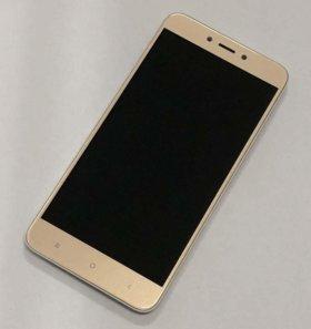Дисплей Xiaomi redmi 4x (gold)