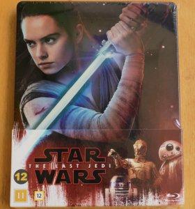 Star Wars The Last Jedi Blu-Ray Steelbook