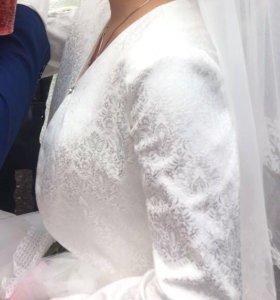 Болеро, накидка свадебная