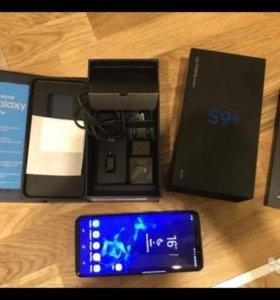 Samsung Galaxy S9 plus Black Brilliant